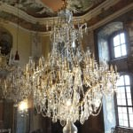 Kristallkronleuchter Schloss Heidecksburg