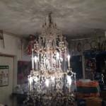 Rekonstruierter Kronleuchter, Wiederherstellung des Schattenbild
